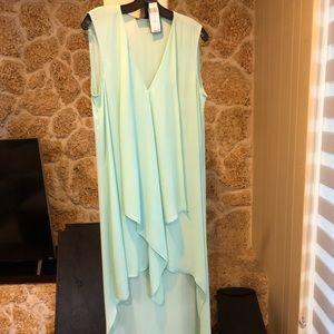 Silk high low dress from BCBG